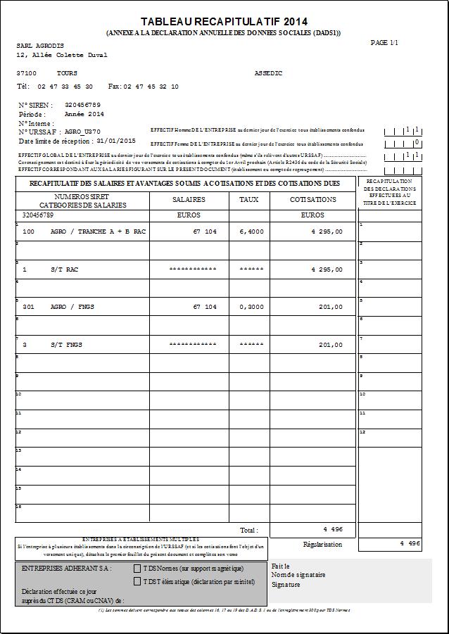 TÉLÉCHARGER TABLEAU RÉCAPITULATIF ANNUEL URSSAF - pc-browsergames.info